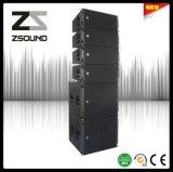 VCM van Zsound de PRO Audio Dubbele Spreker van de Serie van de Lijn van het Overleg van de Luidspreker van 10 Duim