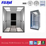 Design bonito Máquina Arylic Roomless elevador de passageiros com o limite máximo da placa transparente