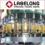 Линия самого лучшего постного масла изготовления заполняя для стеклянных бутылок