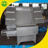 Type d'écran diagonal d'économie d'énergie Séparateur de liquide solide, machine de déshydratation à séchage de fumier vert
