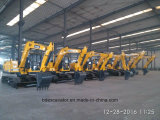 High Performance 8.5ton / 0.5m3 Excavatrice à godets / Excavatrice à chenilles pour creuser