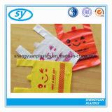 Abbaubarer t-HDPE Plastik kundenspezifischer Druck-Shirt-Beutel