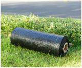 Esteira plástica preta de Weed da tampa à terra