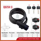 Gewundener Kabel-Kombinationsschloss-Fahrrad-Verschluss-Lenkrad-Verschluss