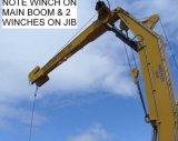 20 toneladas de 15 m de brazo articulado hidráulico grúas marinas