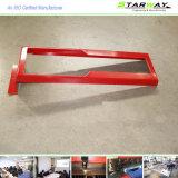 Kundenspezifische rote weiße überzogene Metallherstellung-Teile