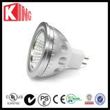 ETL SAAのセリウム6W 600lm COB LED GU10 Dimmable LED Spot Light