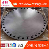Bride borgne de l'acier du carbone Uni6092-67 Pn10