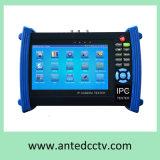 """Videi tenuti in mano del tester del CCTV di idea per le macchine fotografiche del IP della rete con """" schermo di tocco dell'affissione a cristalli liquidi 7"""