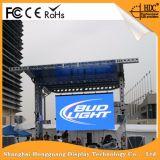 높은 정의 P5 옥외 풀 컬러 LED 영상 벽