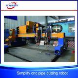 Goedkoop CNC van de Pijp van het Staal van de Brug van de Prijs Plasma/de Scherpe Machine van de Vlam