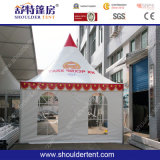 6X6小さいTente Toit PVCアルミニウムPogodaテント(SDG)