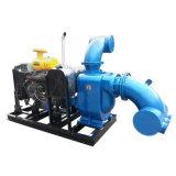 Dieselmotor-selbstansaugende Abfall-Wasser-Pumpe