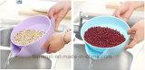 Panier en plastique de Darin de Double couche de légume fruit de cuisine