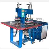 5-15kw Machine van het Lassen van de macht de Dubbele Hoofd voor het In reliëf maken van het Leer van pvc