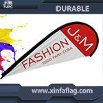 熱い販売法の羽の装飾的な海事のフラグの陳列台