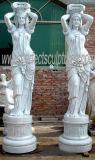 La sculpture en pierre sculptée la sculpture statue en marbre avec du granit grès (sy-C1084)