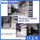 Neitabond 4mm en el exterior de aluminio con recubrimiento PVDF Panel de revestimiento de pared