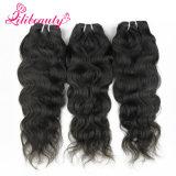 Cabelo natural da onda natural do cabelo de Remy do Cambodian de 100%