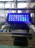 RGBW 4in1 der Leistungs-36X8w Wand-Unterlegscheibe-Licht-Stadt-Farben-Licht im Freienstadiums-des Licht-LED