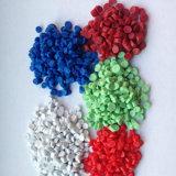 De Samenstelling van pvc van Polyvinyl Chloride, de Plastic Grondstof van pvc