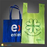 Saco de compra não tecido com impressão do logotipo