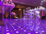 Preço Base 60 * 60cm LED Digital Dance Floor para Stage Light de casamento