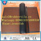 Половой коврик анти- выскальзования дренажа резиновый, циновка резины ванной комнаты