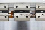 Freno de la prensa hidráulica de Wc67k 63t/2500 para la placa de acero de doblez