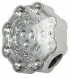 L'aube d'urgence à LED IP65 Twin Spot Light lampe de poche rechargeable incendie Spotlight (HK-4199)