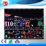 2016 nueva llegada Función M10 pantalla a todo color de un solo color precio barato de puerta principal del LED