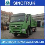 35tons HOWOのアフリカのための頑丈なディーゼルダンプカートラック