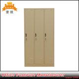 De 3-deur van het Meubilair van de slaapkamer het Kleden zich van het Staal Kast (zoals-026)