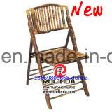 販売のホテルの宴会のレストランの木製のBamooの折りたたみ椅子