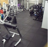 Plancher en caoutchouc de gymnastique de sûreté, plancher de verrouillage de formation de Crossfit,