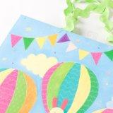 Il regalo quotidiano caldo del bambino di Balloom del foglio per l'impressione a caldo insacca i sacchetti del regalo di trattamento speciale dei sacchi di carta del regalo