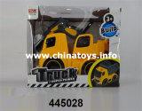 Carro plástico da construção do brinquedo da frição nova do artigo (1075304)