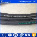 Boyau hydraulique en caoutchouc flexible de 3/4 pouce (En856 4sp 4sh)