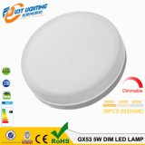 Gx53 5W Dimmable 6.5W SMD3528 230V LED Gx53のセリウムRoHS
