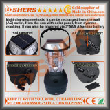 Un indicatore luminoso solare dei 36 LED per il campeggio con la dinamo, USB (SH-1990D)