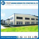 Kit de edificio de acero del taller de acero del almacén de la estructura de acero