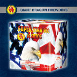 Superstern 500 16 Schuss-Kuchen-Feuerwerke