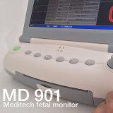 Meditech fötaler Monitor mit Oberseiten horizontal und Wänden kann hochgezogen werden