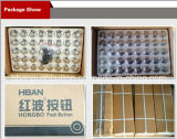 CE RoHS 16mm Push Button con Iluminado-DOT