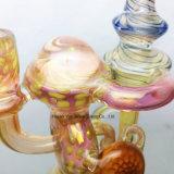 Recycler-Trinkwasserbrunnen Rohr des neuen Glasölplattform-Wasserrohr grossen unbesonnenen Brenner-Bechers bunter