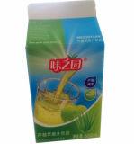 boîte en carton<br/> pour 500ml de jus de 6 couches/lait/crème/vin/eau/yaourt