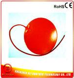 Almohadilla de silicona de silicona redonda con calentador de silicona 100k de termistor