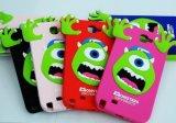 Смешное Design Wholesale Mobile 3D Animal Silicone Phone Case