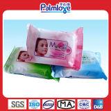 Remove Wet Wipesの上の女性Make