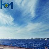 glace inférieure enduite Tempered de fer d'utilisation de panneau solaire de 3.2mm